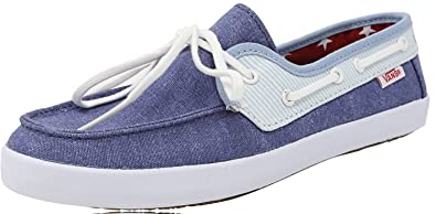 b17ba2213d15 Vans Women s Chauffette Americana Stv Navy Forget Me Not Ankle-High Canvas  Fashion Sneaker