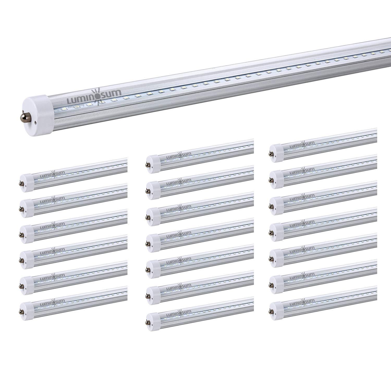 LUMINOSUM, T8 LED Tube Light 8 Feet 40W