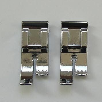 KUNPENG - 2 piezas SNAP-ON PIE DE 1/4 PULG. # CY-7304=006916008 para SINGER 1100, 3800, 6500, 7300 SERIES: Amazon.es: Hogar