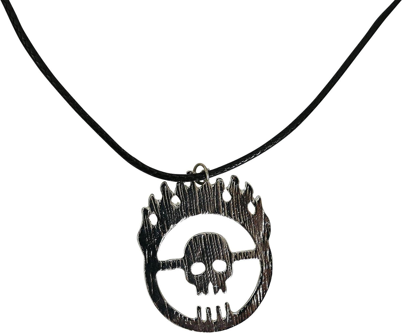 Katara- Collar Cráneo Mad Max Joyas Accesorio de Disfraz Cosplay ...
