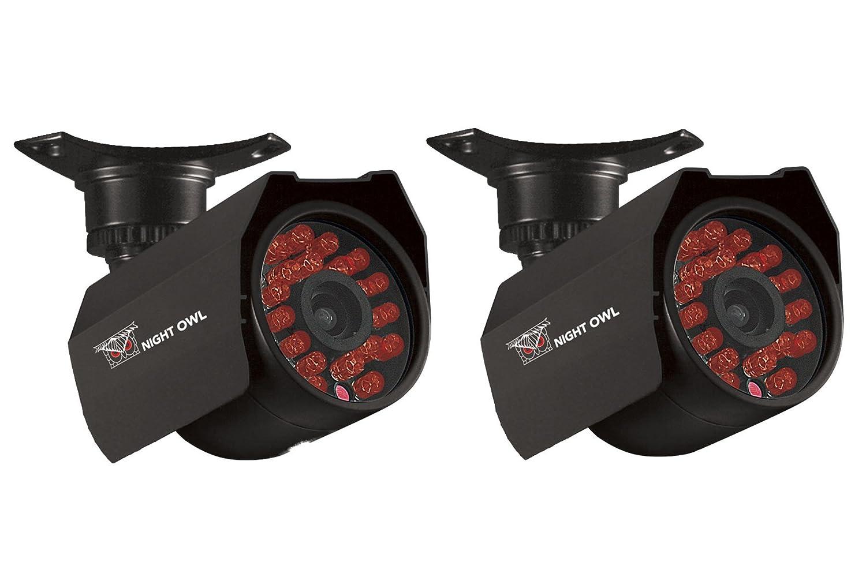Noche Búho CAM-2PK-624 vigilancia/cámara de red - Color - 2PK HI-RES 600TVL cámaras de seguridad 1524 cm Cable de visión nocturna: Amazon.es: Bricolaje y ...