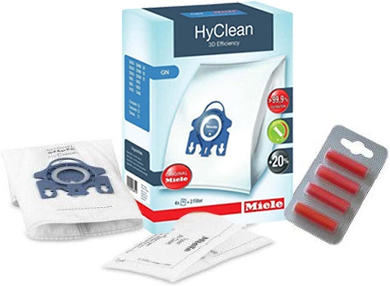 Miele Auténtica GN Aspirador S8310 S8320 S8330 S8340 Cat & Dog Bolsas y filtros X 4: Amazon.es: Hogar