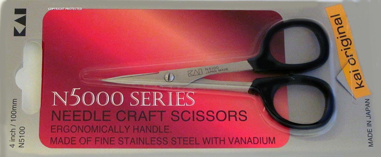 Tijera : Kai 5100 4-inch Needlecraft Scissor...