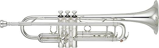 Yamaha YTR-8335S Xeno Professional Trumpet- Silver Plated Finish