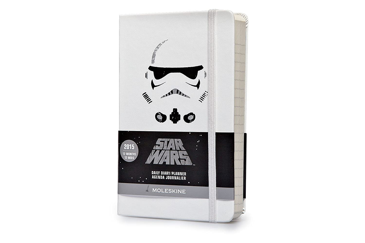 Agenda 2015 Star Wars Journalier Poche Couv Rigid Blanc ...