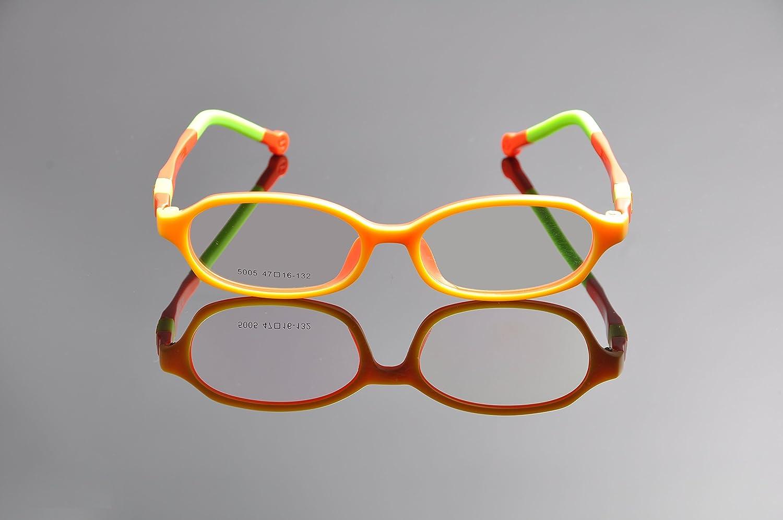 De Ding M/ädchen Brillengestell Mehrfarbig bluewhite