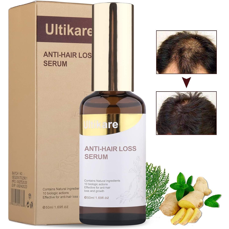 Ultikare Hair Grow Serum for Thinning Hair Loss Regrowth Oil Treatment Product Men & Women