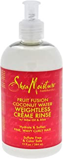 product image for Shea Moisture Fruit Fusion Coconut Water Weightless Creme Rinse 1, 13 Ounce