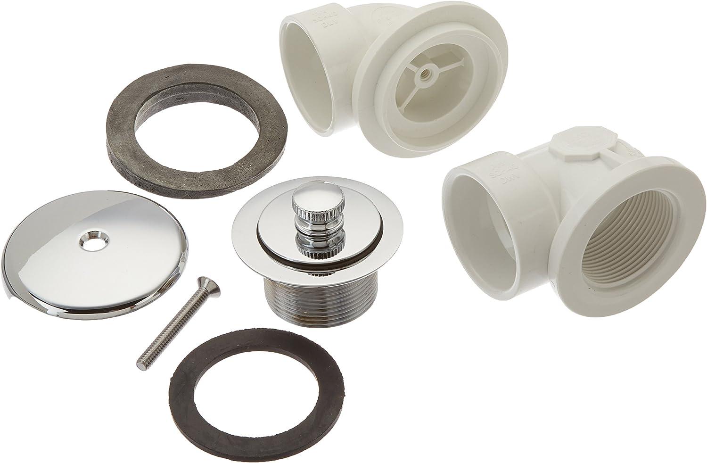 T-Waste Pvc Full Kit W//Cp Push Pull 1H Jones Stephens Corp