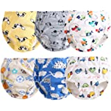 Orinery Cotton Reusable Toddler Baby Training Pants 6-Pack