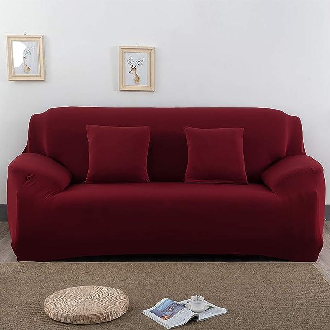 Amazon.com: guxcsag - Funda de sofá elástica de algodón para ...