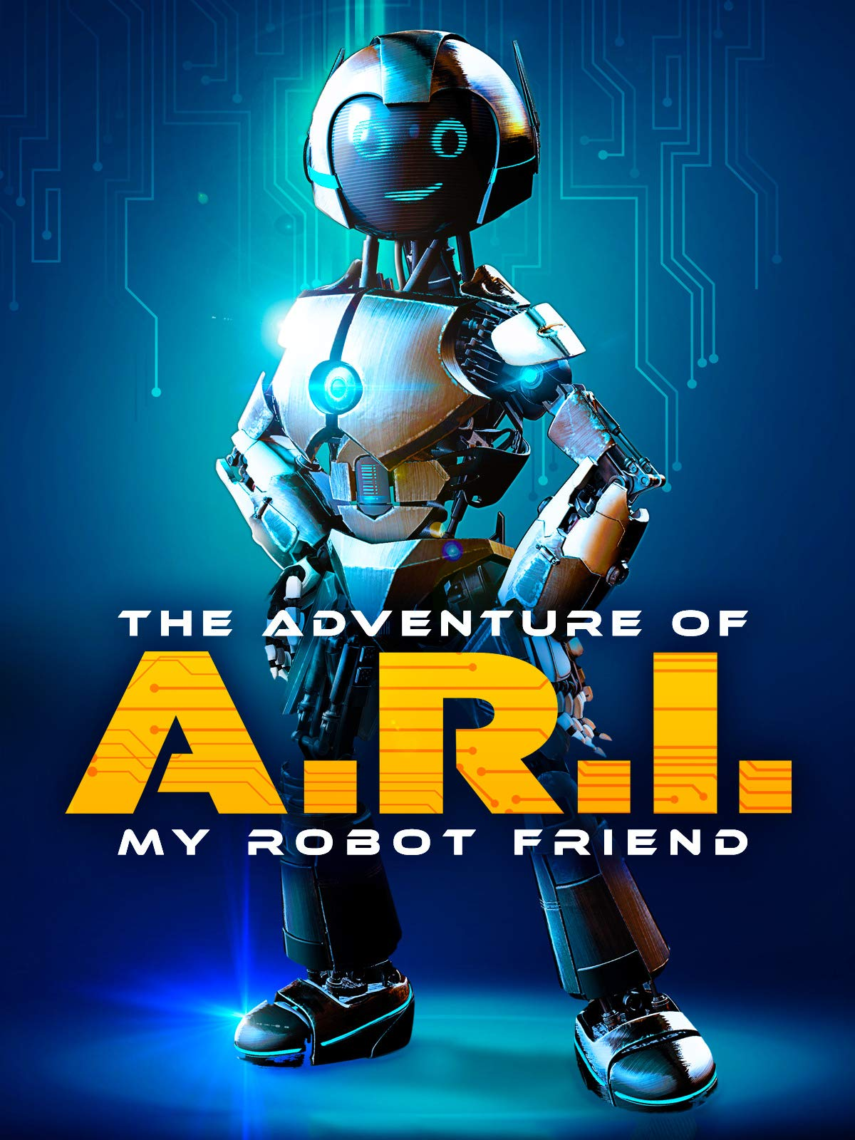 The Adventure Of A.R.I My Robot Friend (2020) English Movie 480p BluRay x264 450MB