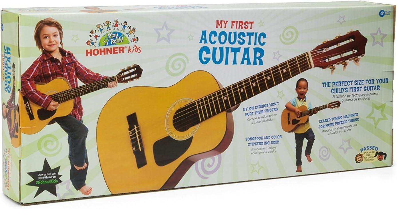 Hohner hag250p 1/2 tamaño guitarra clásica: Amazon.es ...