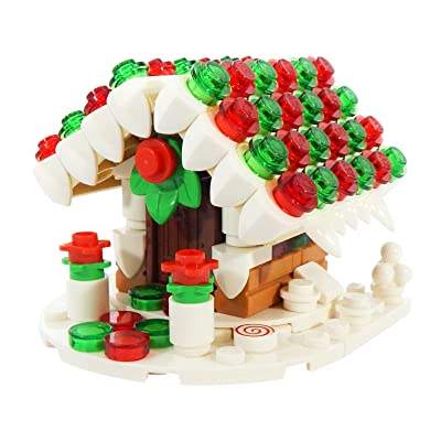 LEGO Gingerbread House - Custom Christmas Minifigure Building Set: Toys & Games