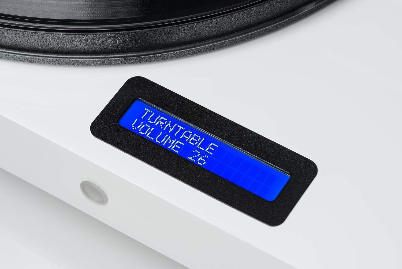 Pro-ject cha/îne hiFi juke box platine rouge