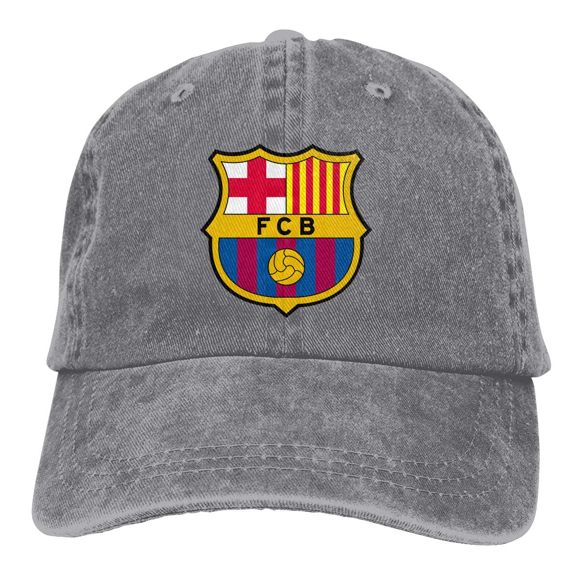 Amazon.com  ZMBDC Adult Barcelona Jeans Caps 3f24a1aa3ac