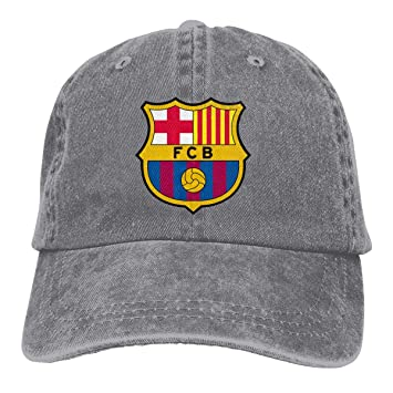 Amazon.com  ZMBDC Adult Barcelona Jeans Caps 3918e0de584