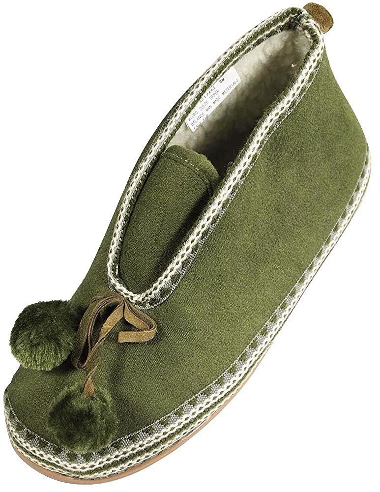 Deer Stags Ladies Mutsy Slipperooz Slipper
