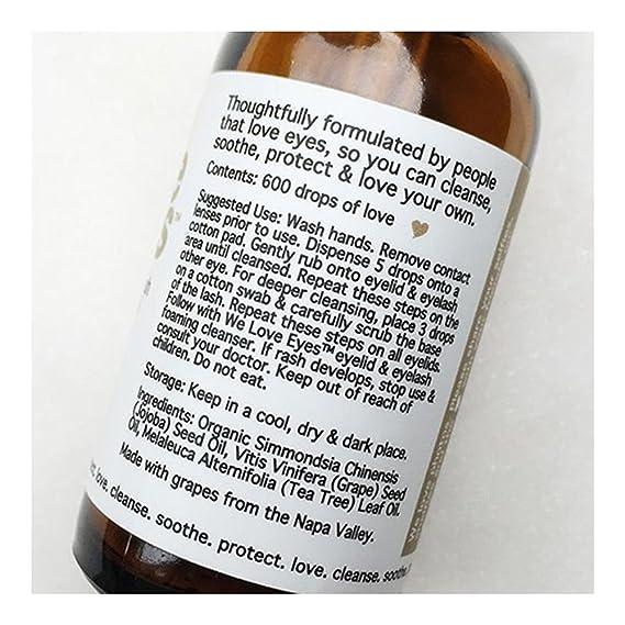 All Natural árbol de té párpado limpiador Kit (limpieza Aceite 30 ml y limpiador espuma 40 ml) - Hidrata, reduce el picor y la inflamación, blefaritis, ...
