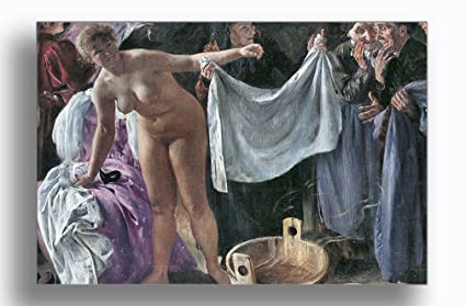 Amazon.com  The Witches (Lovis Corinth) Aluminum Metal Photo Print ... 9109764109