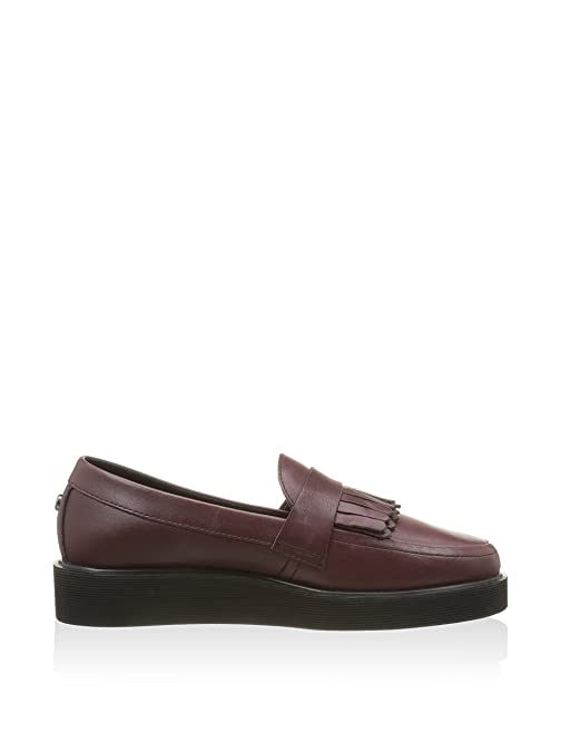Fred Perry Mocasines Clásicos Fp Newburgh Loafer Vino EU 37 (UK 4): Amazon.es: Zapatos y complementos