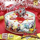 送料無料 バンダイ キャラデコお祝いケーキ 騎士竜戦隊リュウソウジャー イチゴ 5号
