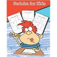 Sudoku for Kids: The Largest Sudoku Puzzle Books for Kids 4x4, 6x6, 8x8 Puzzle Grids - Gradually Introduce Children to Sudoku and Grow Logic Skills! - Over 200 Pages