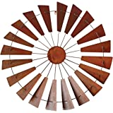 Foreside Home & Garden FWAD02138 Windmill Wall Art