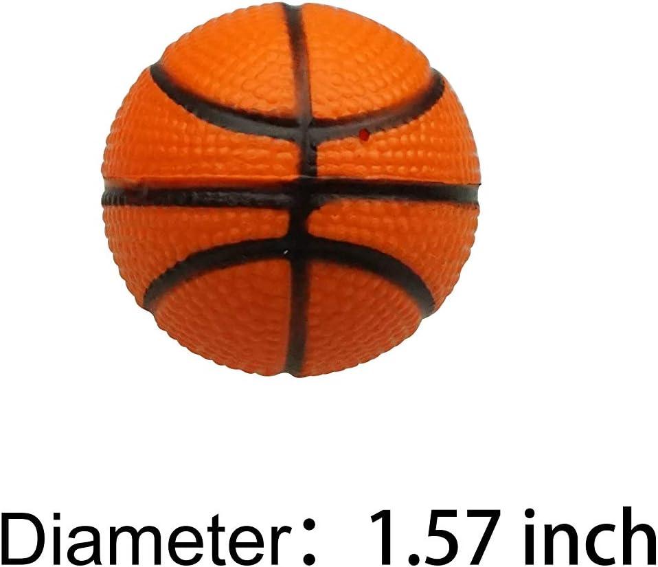 24 bolas de baloncesto para niños, pelota antiestrés, mini pelota ...