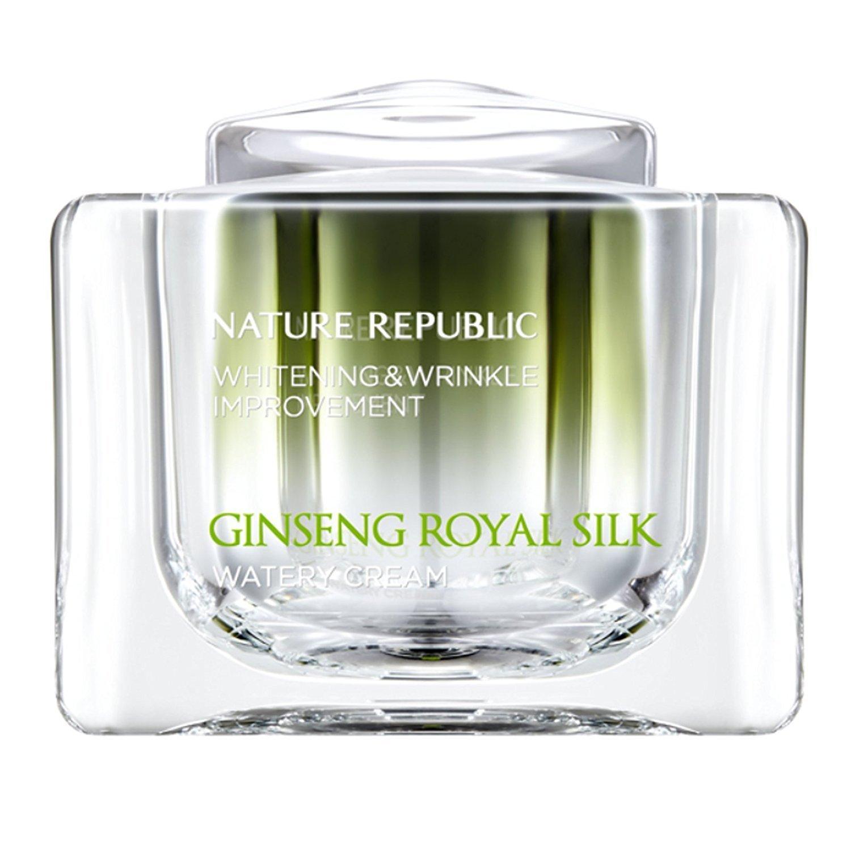 Nature Republic GINSENG ROYAL SILK WATERY CREAM 60g(2.11oz)whitening& wrinkle improvement