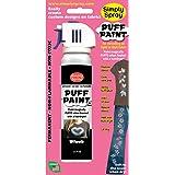 Teinture flocage tissu Simply Spray en aérosol - Noir PUF002