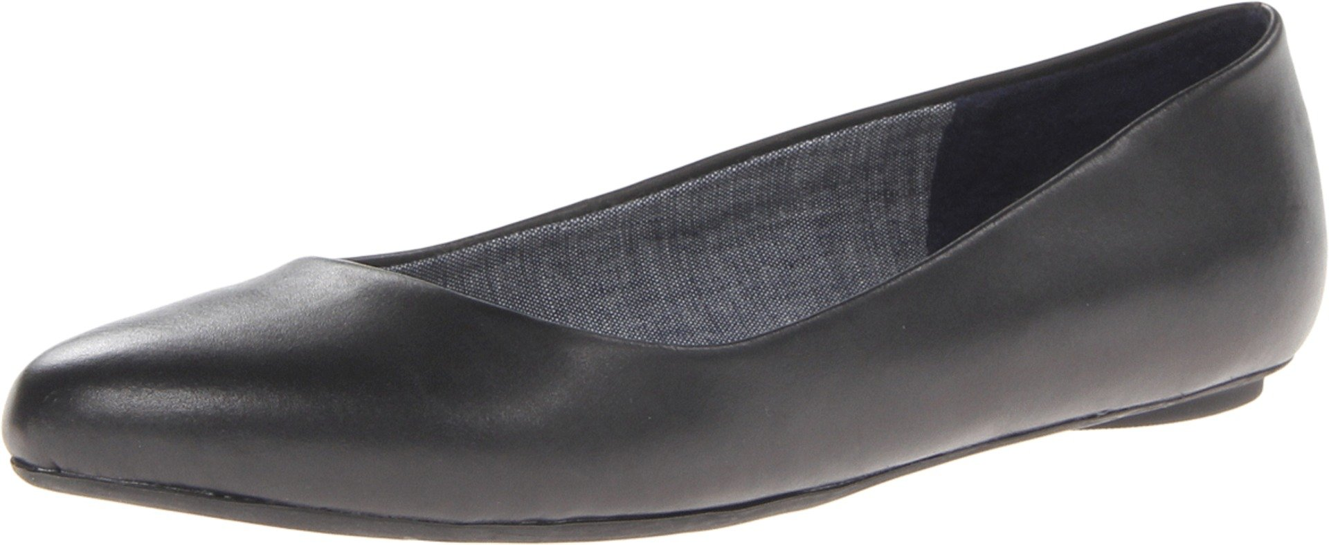 Dr. Scholl's Women's Black Flat  Shoes - 8.5 B(M) US