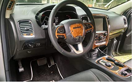 Wonderful DODGE DURANGO INTERIOR WOOD DASH TRIM KIT SET 2014 2015 2016 2017 Home Design Ideas