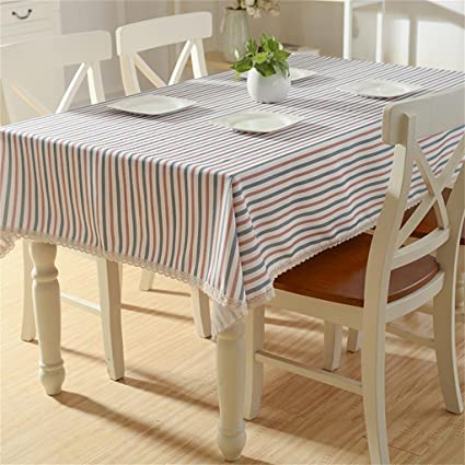 Royal Tablecloths French Dining Table Lattice Tablecloths Striped  Tablecloths 120*160cm