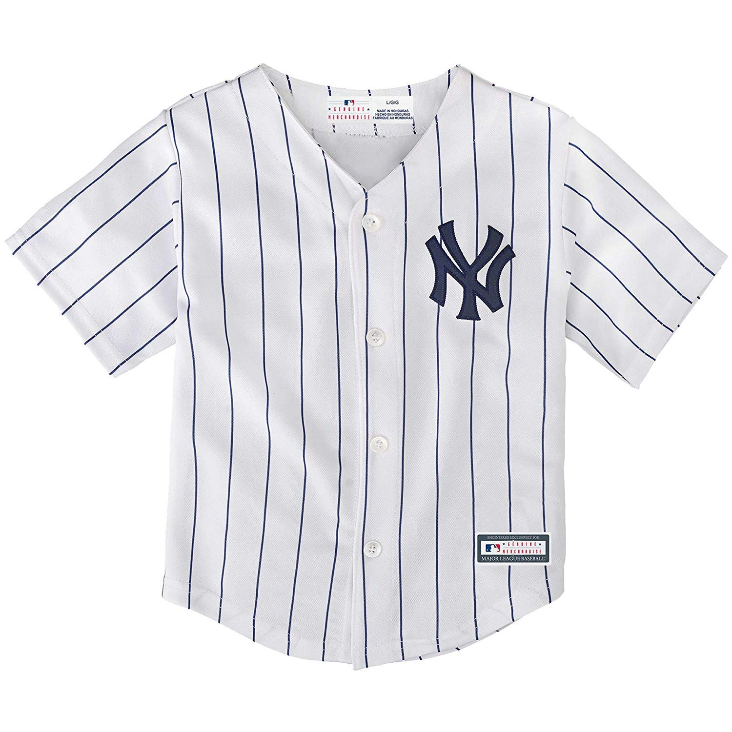 Outerstuff Giancarlo Stanton New York Yankees Toddler Cool Base Home Replica Jersey