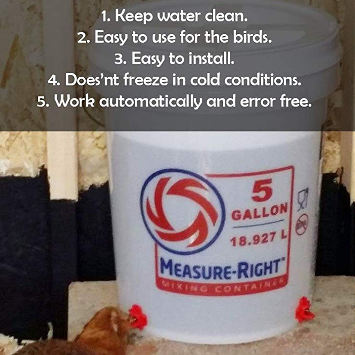 Uniquk 12 Pack Clean Drinker Waterer For Chicken Or Quail Horizontal Side Mount Automatic Poultry Nipples