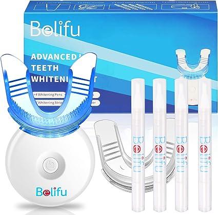 Amazon Com Belifu Teeth Whitening Kit With Led Light Teeth