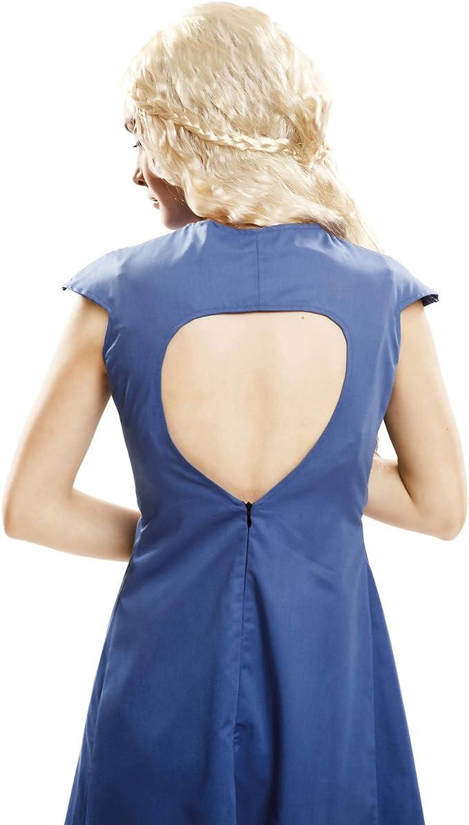My Other Me Me-202723 Disfraz Reina Dragón para mujer, color azul, S (Viving Costumes 202723): Amazon.es: Juguetes y juegos