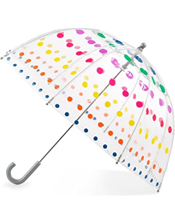 9a458aa44 Totes Kid's Clear Bubble Umbrella with Easy Grip Handle, ...