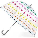 Totes by Totes Kid's Clear Bubble Umbrella Umbrella, Dots