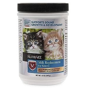 Nutri-Vet Milk Replacement For Kittens