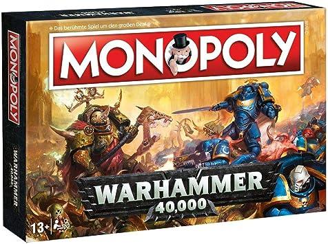 Unbekannt Warhammer 40.000-Monopoly-Alemán Versión 40k Games Workshop: Amazon.es: Juguetes y juegos