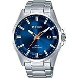 [セイコー パルサー]SEIKO PULSAR 100m防水 クオーツ 腕時計 サファイヤブルーメンズ PS9505X1 [並行輸入品]