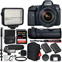 Canon EOS 6D Mark II Wi-Fi DSLR Camera (6D Mark II 24-105mm Video Creator Bundle)