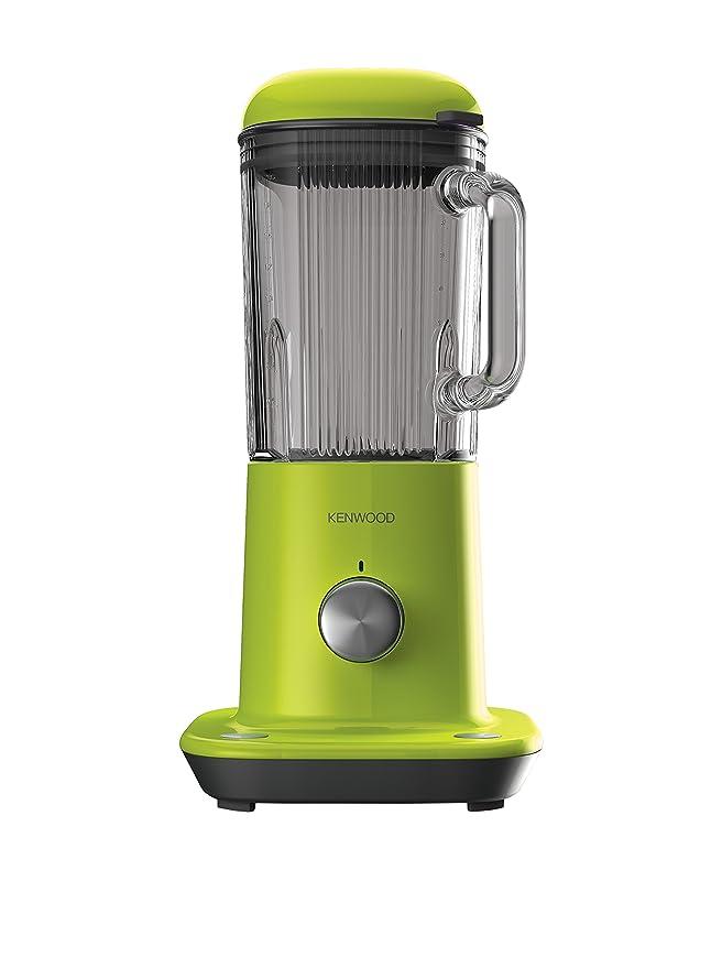 Kenwood BLX50.GR PopArt - Batidora de vaso, 800 W, color plata y verde