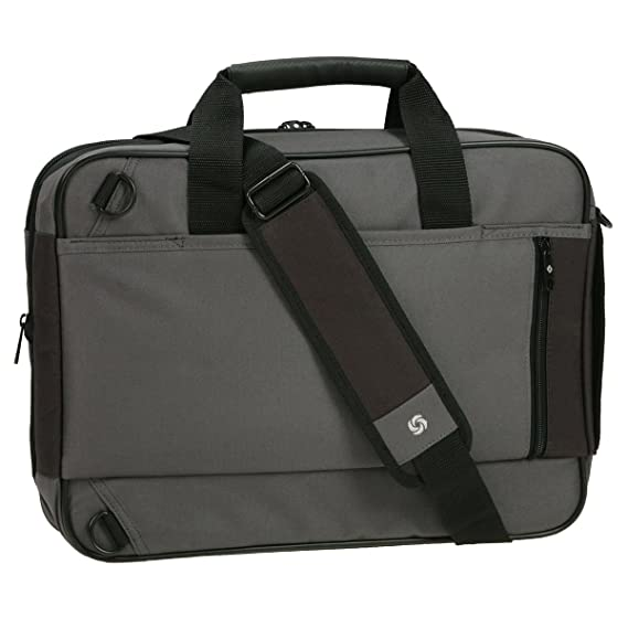 Casual Samsonite Unity 3-in-1 bolsa para portátil, maletín, mochila y bolsa en el mismo para todos los ordenadores portátiles de hasta 38,1 cm de color ...