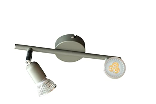 Led strahler deckenleuchte spot deckenlampe gu10 2 x 5 watt 340