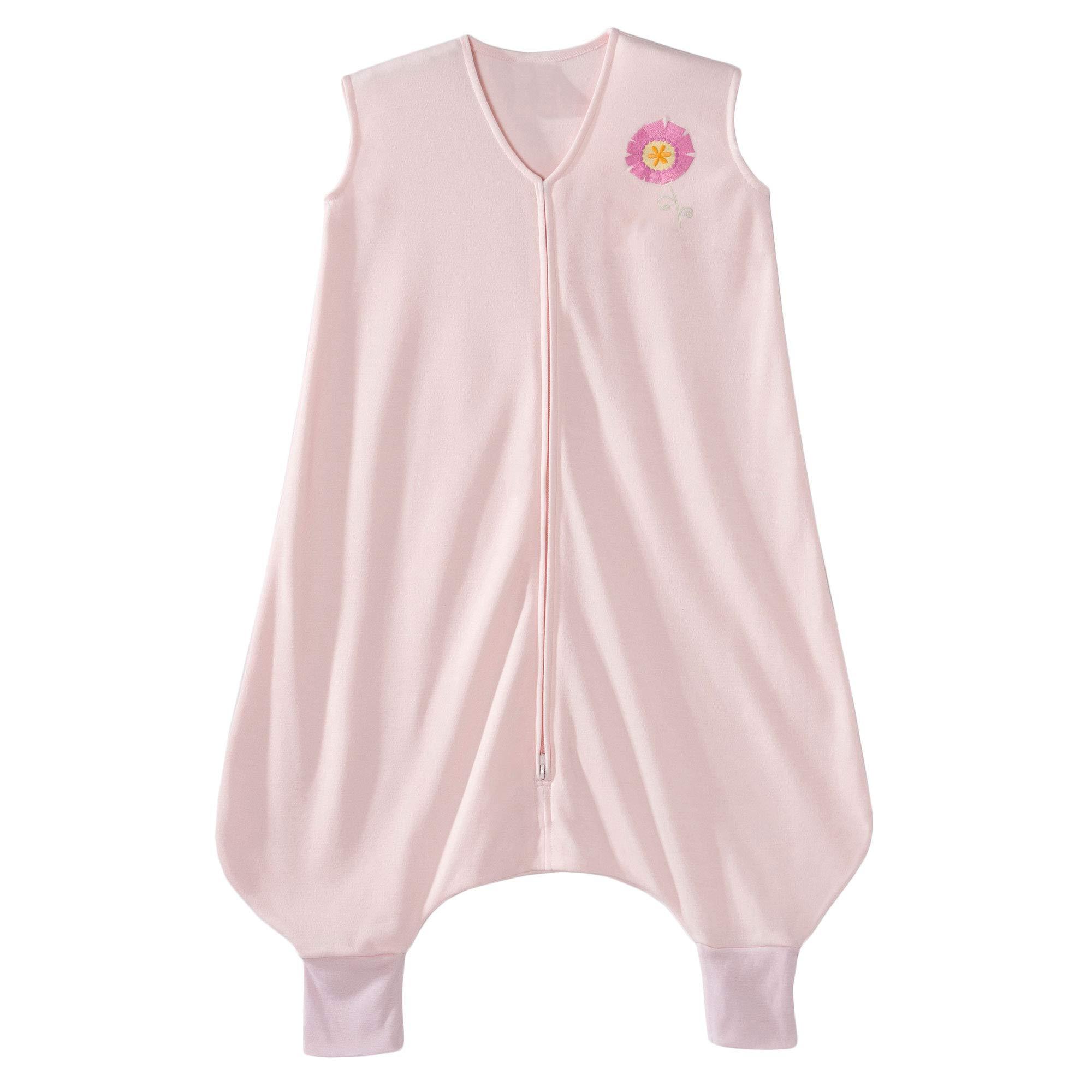 HALO Early Walker Sleepsack Lightweight Knit Wearable Blanket, Pink, X-Large