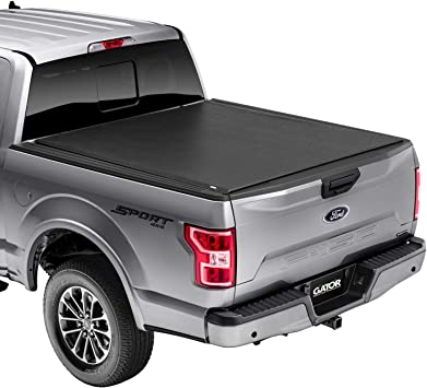 Amazon Com Gator Etx Soft Roll Up Truck Bed Tonneau Cover 53315 Fits 2015 2020 Ford F 150 5 7 Bed 67 1 Automotive