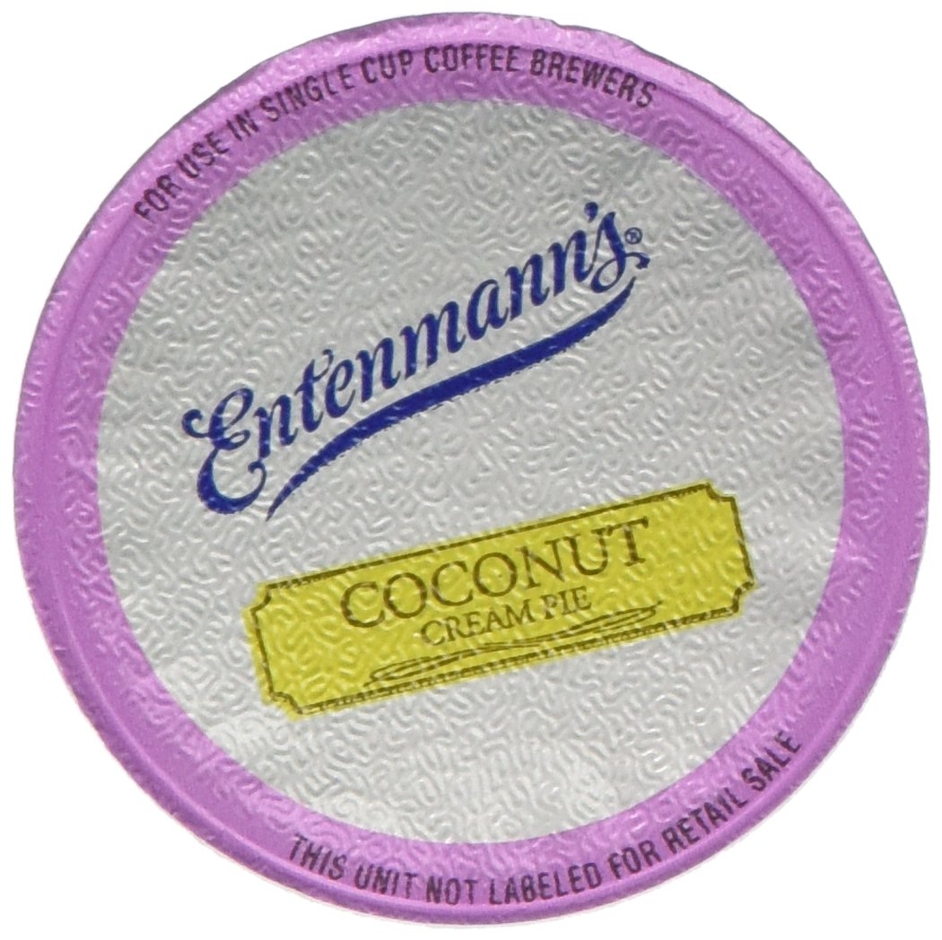 Entenmann's Coconut Cream Pie Coffee Single Serve Cups, 80 Count by Entenmann's